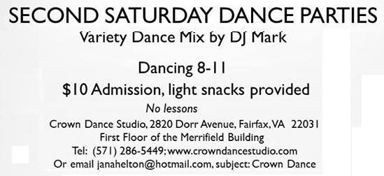 Second Saturday Hustle Party at Crown Dance Studio
