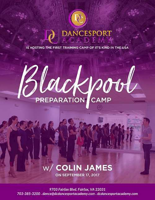 Blackpool Preperation Workshops with Colin James at DC DanceSport Academy