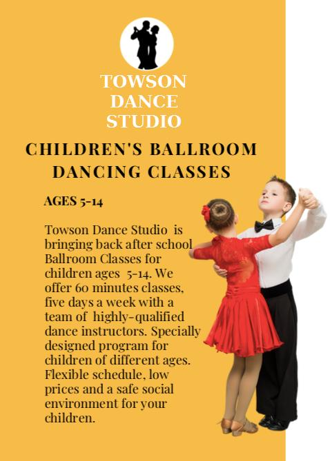 TOWSON DANCE STUDIO KIDS CLASSES