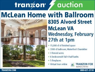 McLean Home with Ballroom